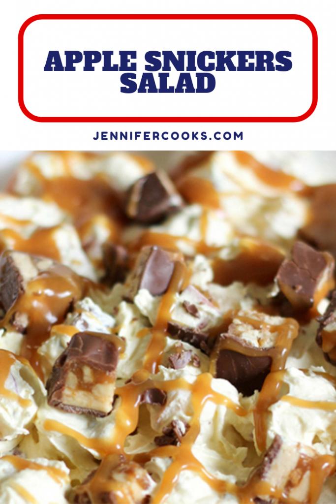 Apple Snickers Salad | JenniferCooks.com