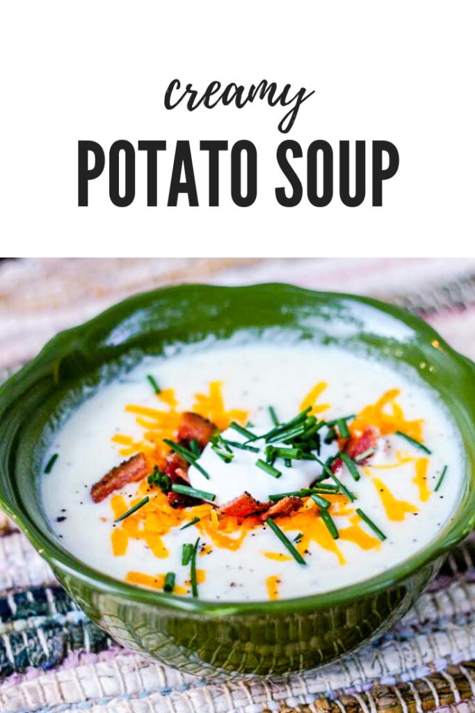 Loaded Potato Soup | JenniferCooks.com
