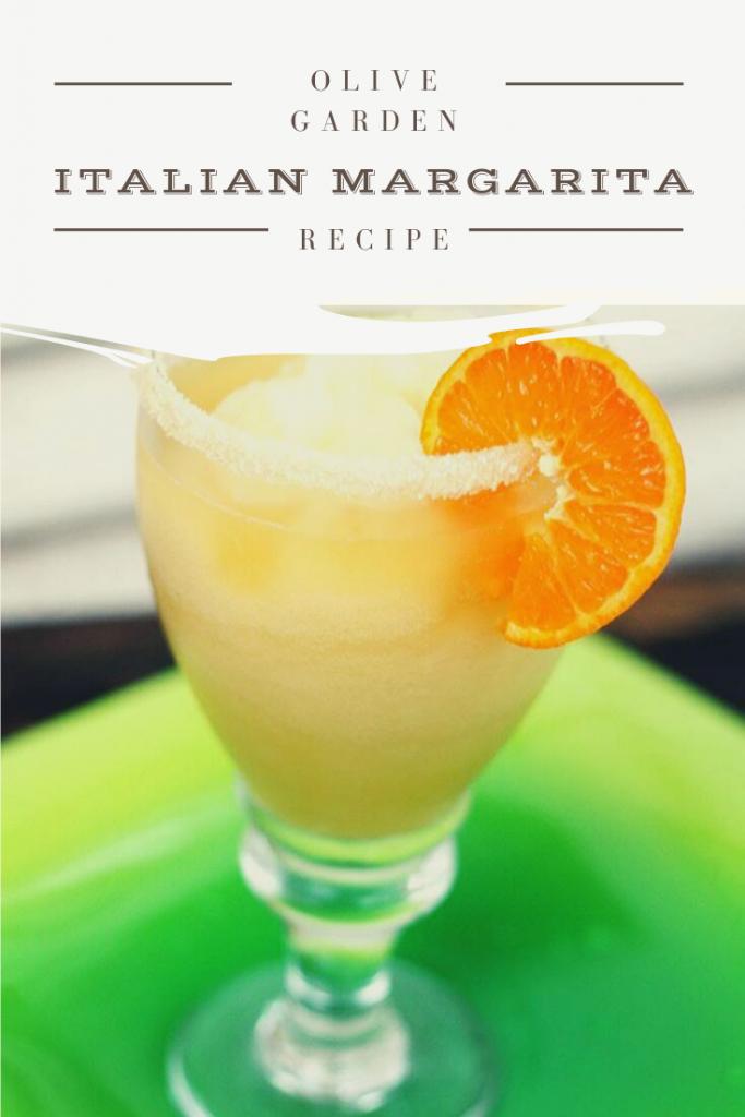 Copy Cat Olive Garden Italian Margarita Recipe | JenniferCooks.com