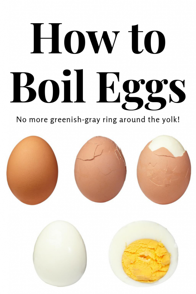 How to Boil Eggs | JenniferCooks.com