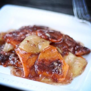 Sweet Potato and Apple Bake | JenniferCooks.com