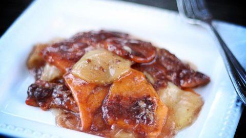 Sweet Potato and Apple Bake | JenniferCooks.com