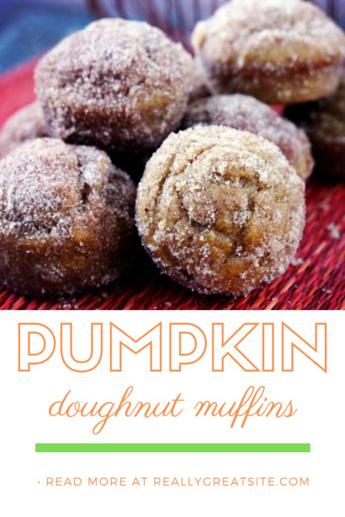 Pumpkin Spice Doughnut Muffins | Jennifercooks.com
