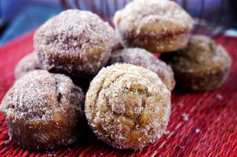 Pumpkin Doughnut Muffins | JenniferCooks.com