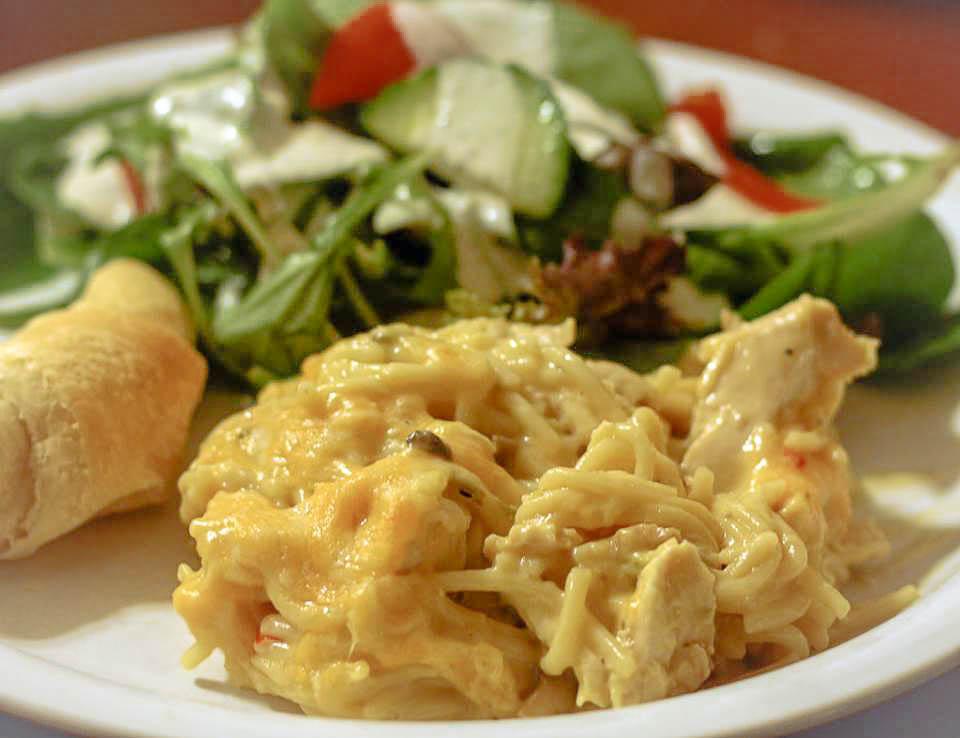 Chicken Spaghetti with Velvet | Jennifer Cooks