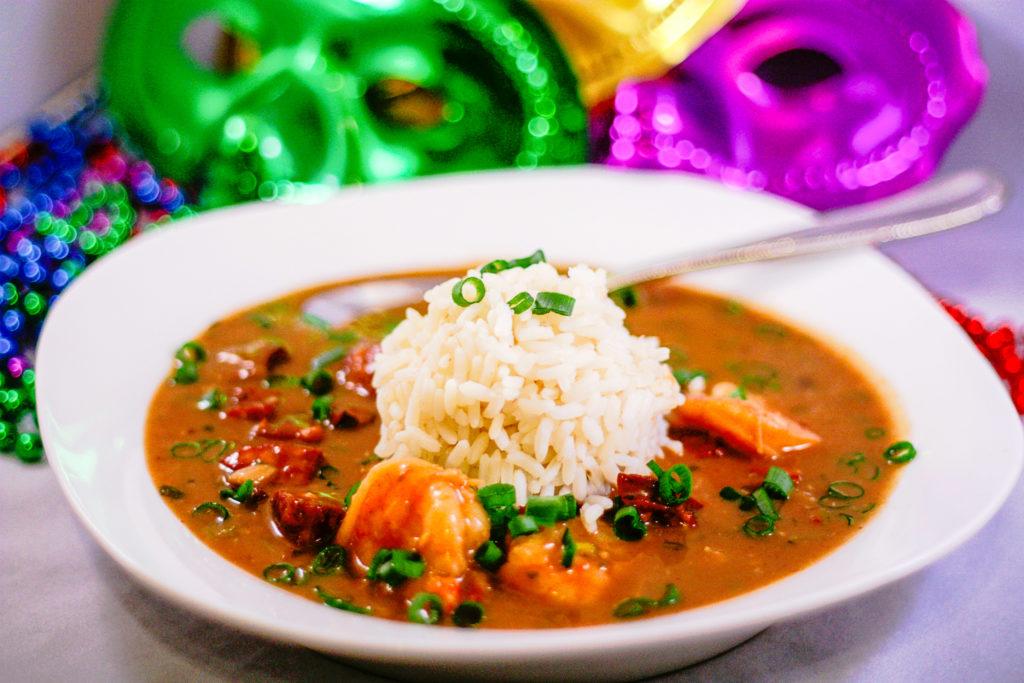 Cajun Style Shrimp and Sausage Gumbo | JenniferCooks