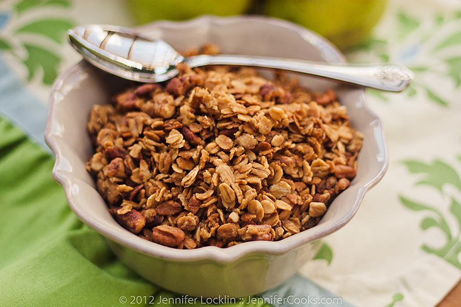 Homemade Granola | Jennifer Cooks