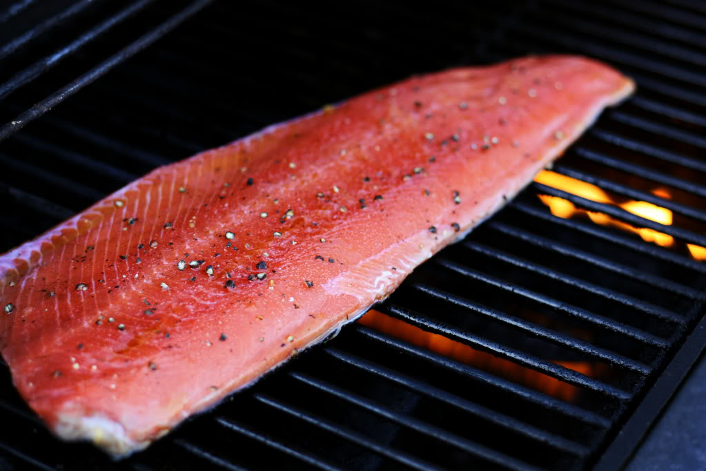 Simply Grilled Wild Sockeye Salmon Recipe | JenniferCooks.com