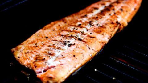 Simply Grilled Wild Sockeye Salmon | JenniferCooks.com