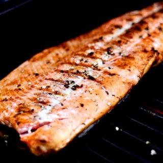 Simply Grilled Wild Sockeye Salmon Recipe | JenniferCooks.com