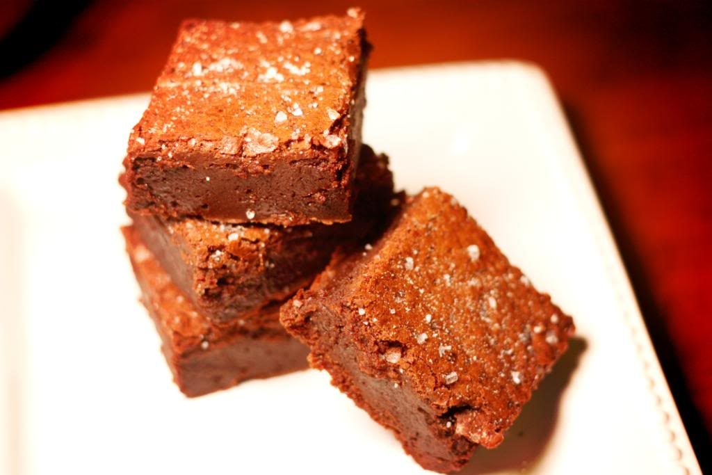 Salted Fudge Brownies | Jennifer Cooks