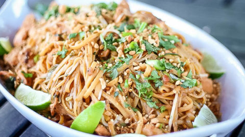 Pad Thai Recipe | JenniferCooks.com