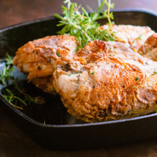 Easy Weeknight Pan Roasted Chicken Breasts | JenniferCooks.com