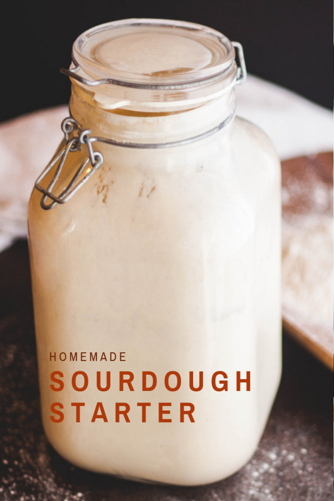 Homemade Sourdough Starter | Jennifercooks.com