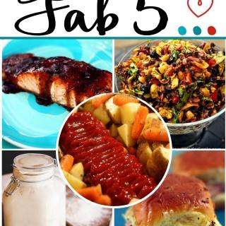 Jennifer Cooks Fab 5 Week 2