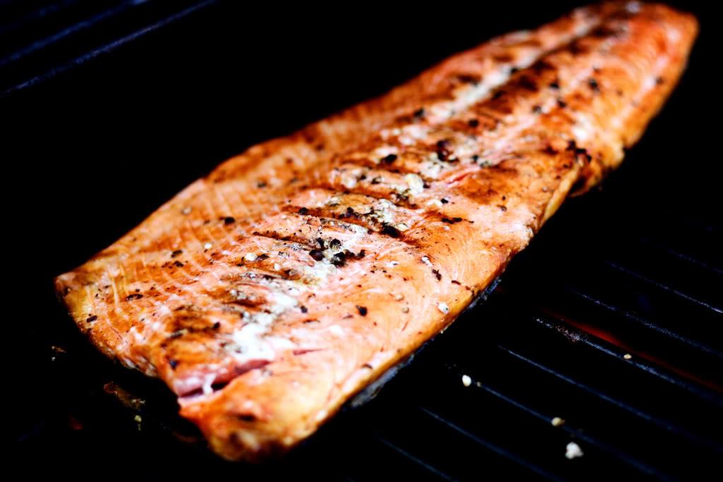 Simply Grilled Wild Sockeye Salmon | Jennifer Cooks