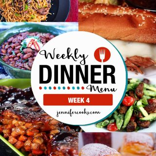 Weekly Menu Week 4 | Jennifer Cooks