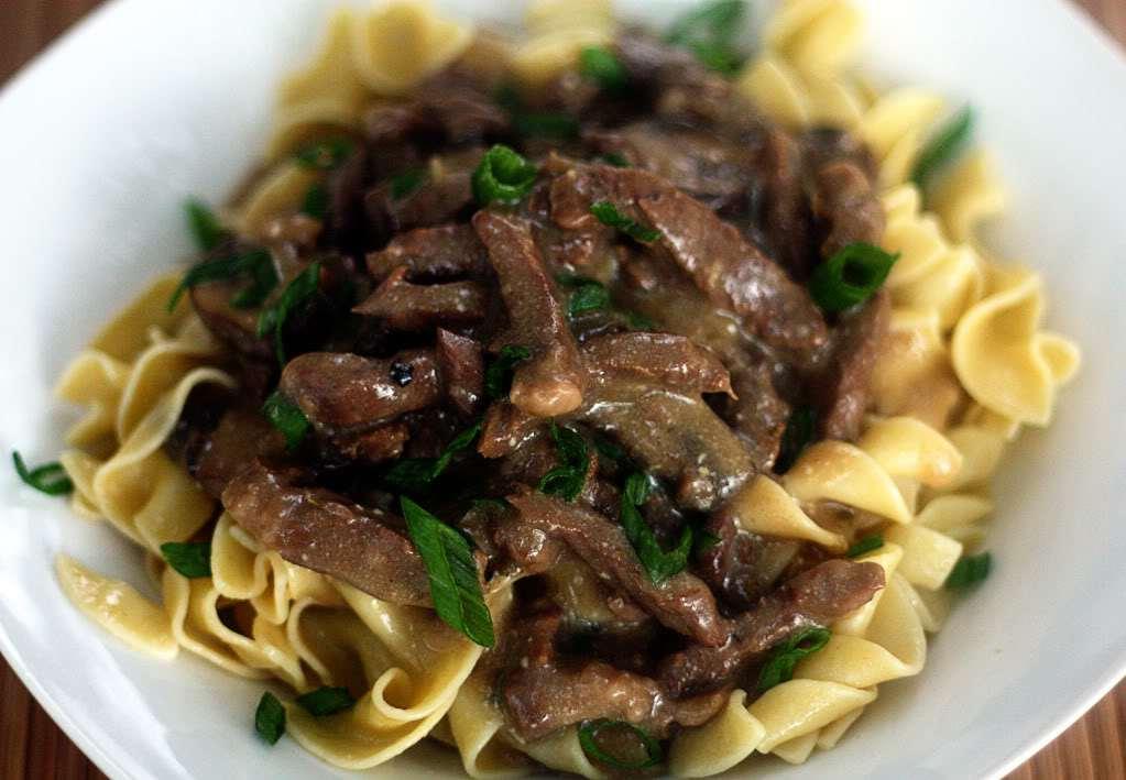 Slow Cooker Beef Stroganoff | Jennifer Cooks