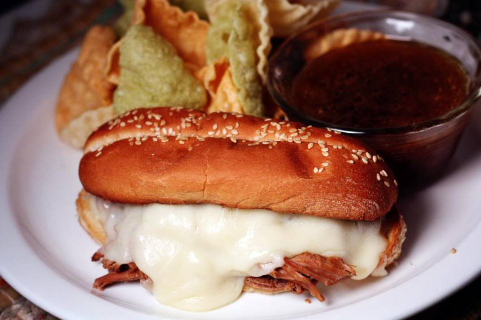 Slow Cooker French Dip Sandwiches | Jennifer Cooks
