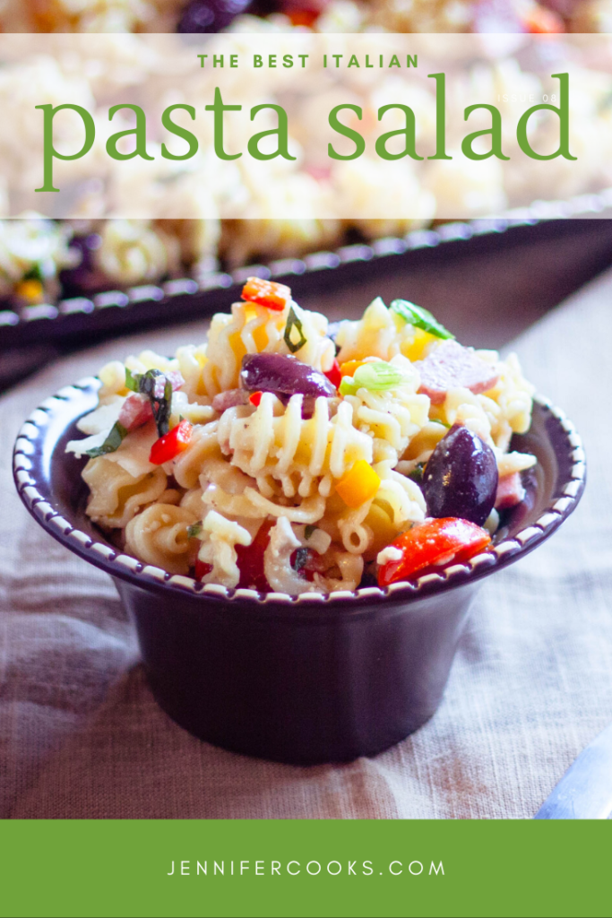Italian Pasta Salad | JenniferCooks.com