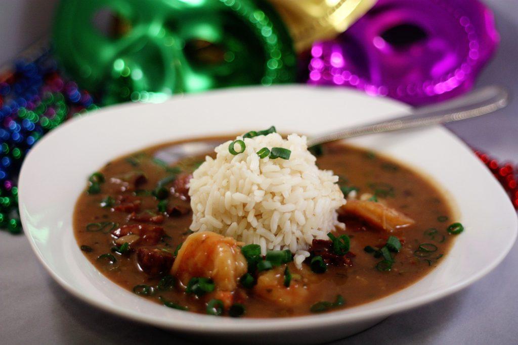 Cajun Style Shrimp and Sausage Gumbo | Jennifer Cooks