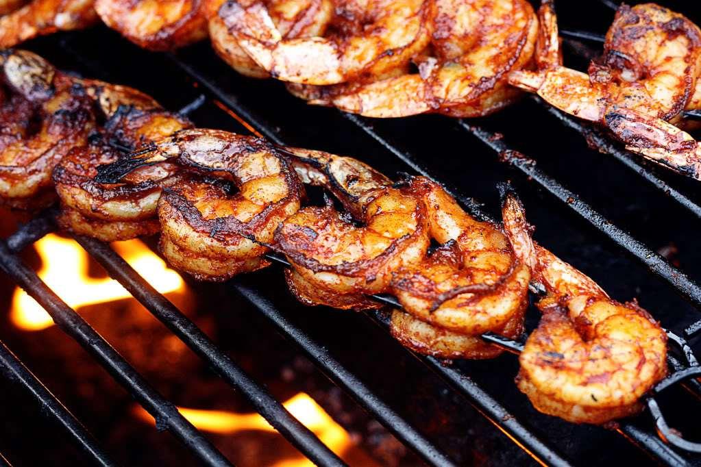 BBQ Grilled Shrimp | Jennifer Cooks