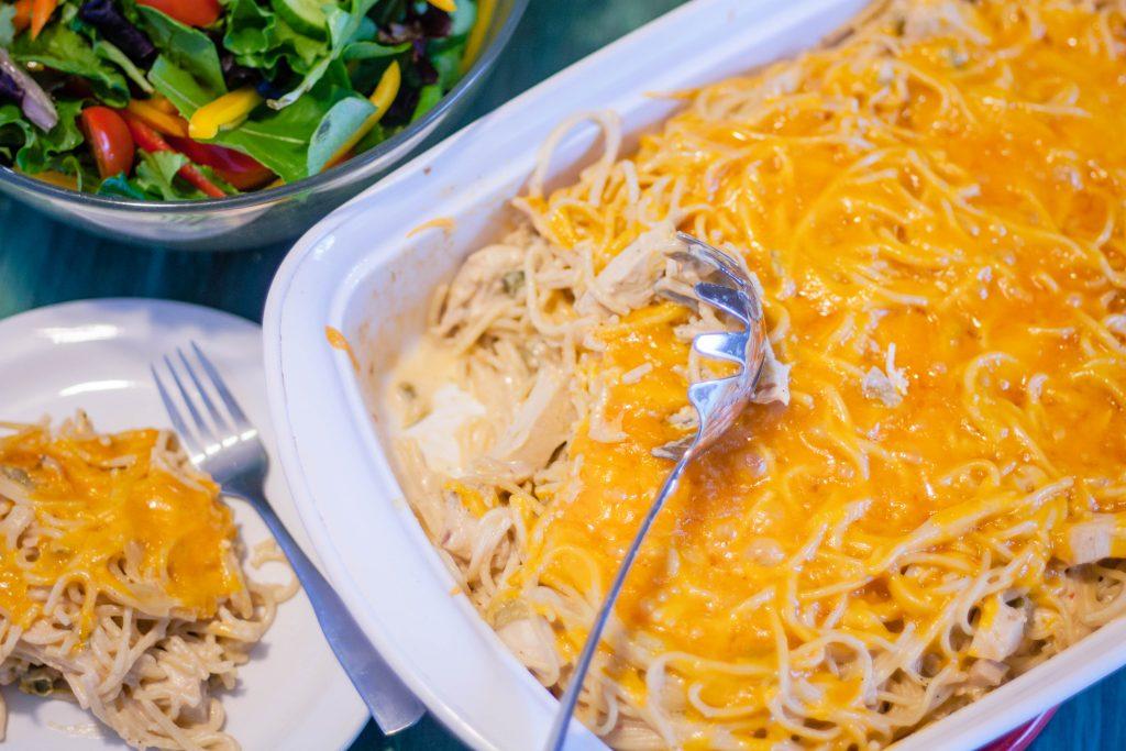 Chicken Spaghetti | Jennifer Cooks