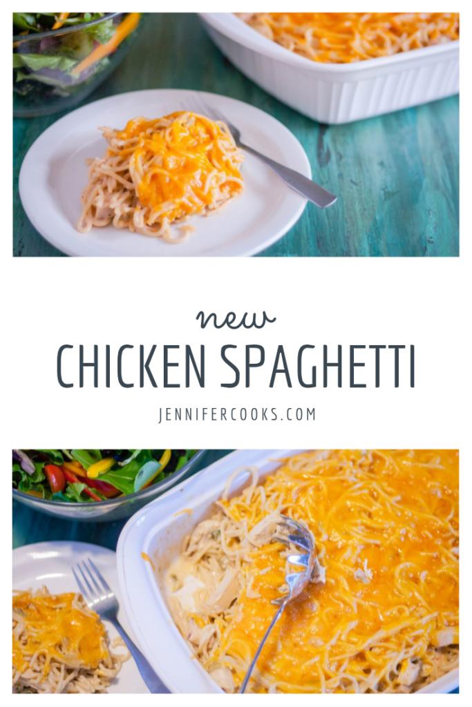 Best Chicken Spaghetti | JenniferCooks.com