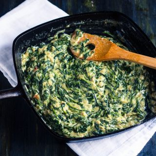 Creamed Spinach | Jennifer Cooks