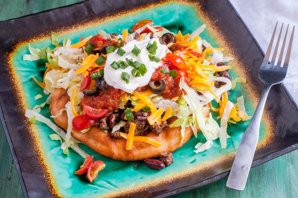 Indian Fry Bread Tacos | Jennifer Cooks
