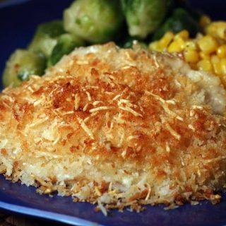 Parmesan Crusted Tilapia | Jennifer Cooks