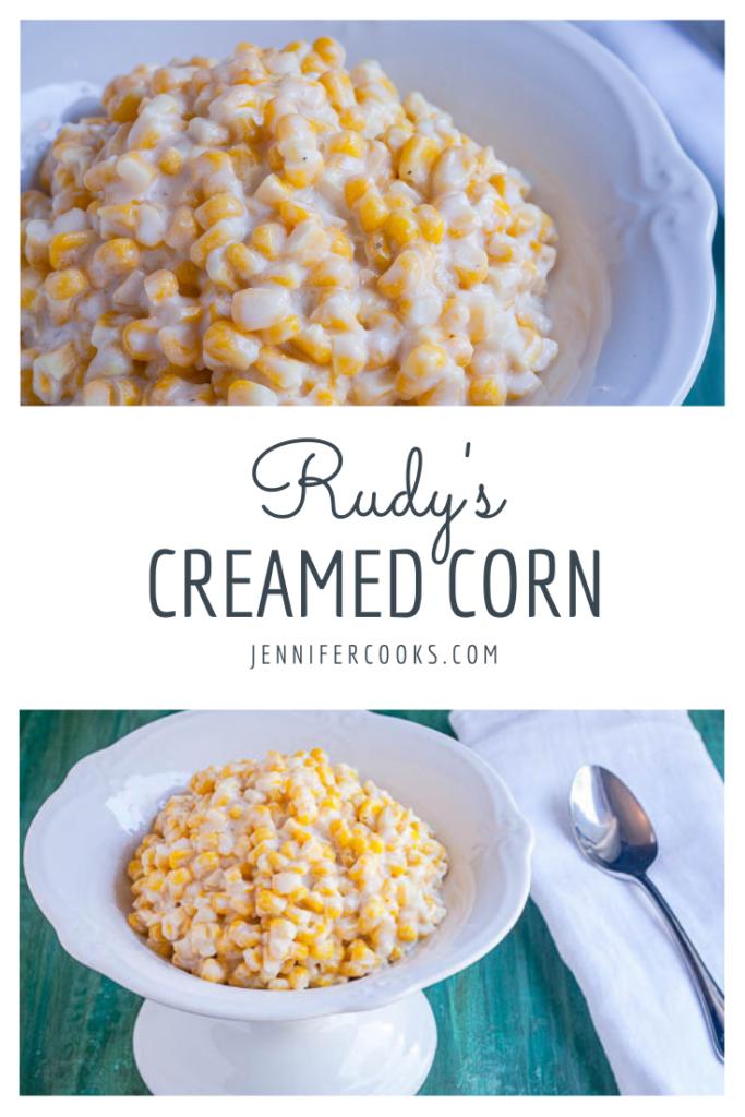 Rudy's Creamed Corn | JenniferCooks.com