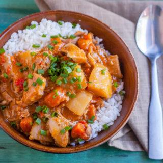 Slow Cooker Massaman Curry | JenniferCooks.com