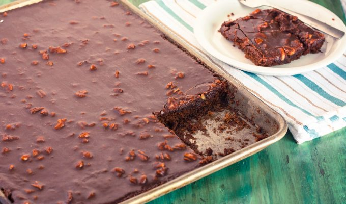 Texas Sheet Cake   Jennifer Cooks