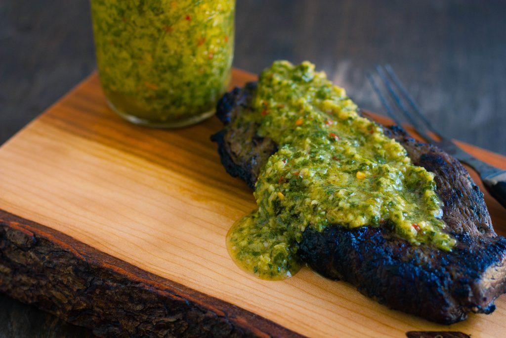 Grilled Sirloin Steak with Chimichurri Sauce   Jennifer Cooks