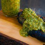 Grilled Sirloin Steak with Chimichurri Sauce | Jennifer Cooks