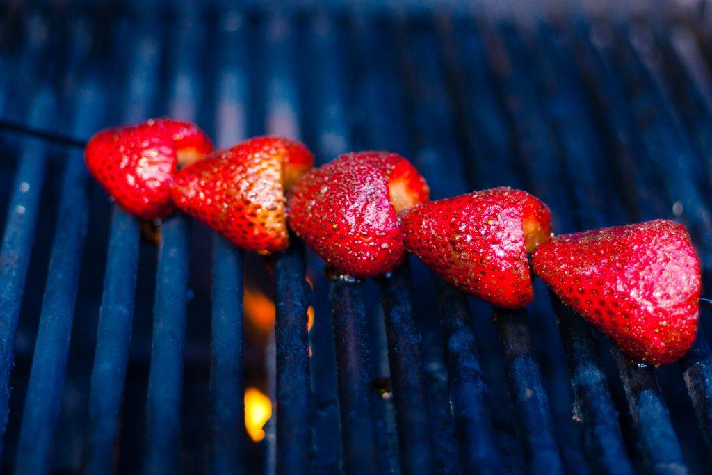 Grilled Strawberries | Jennifer Cooks