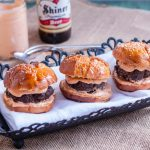 Pretzel Roll Sliders with Pub Style Beer Cheese | Jennifer Cooks