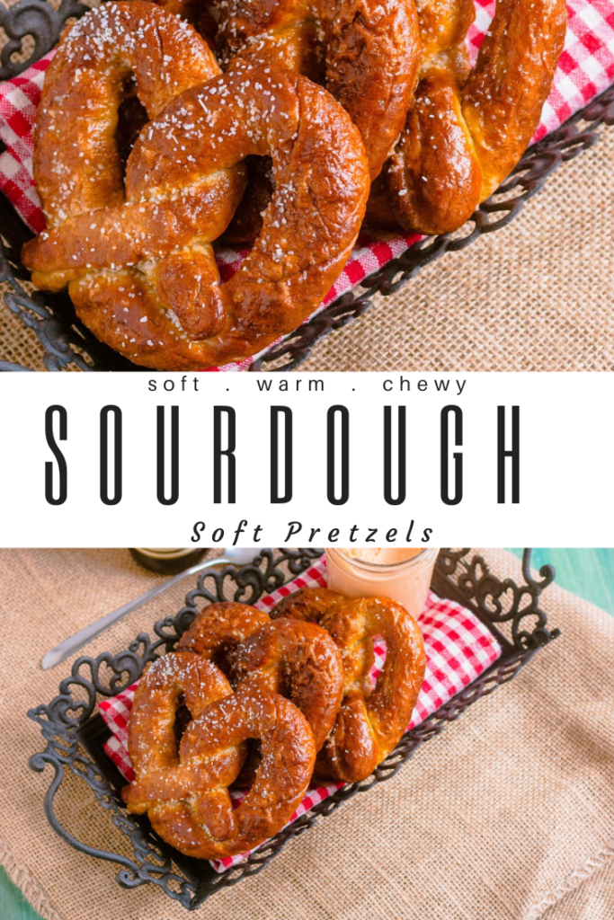 Sourdough Soft Pretzels | JenniferCooks.com