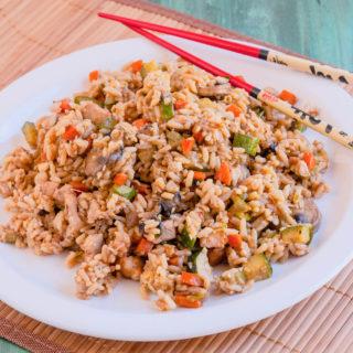 Hibachi Style Fried Rice | JenniferCooks.com