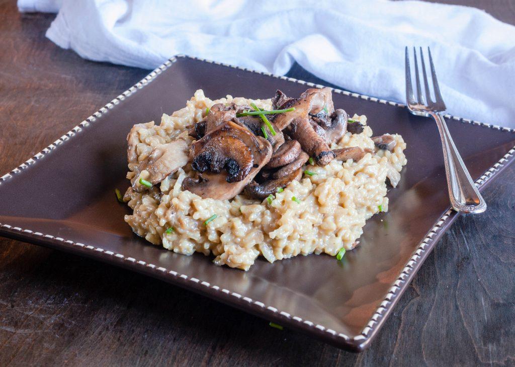 Mushroom Risotto | Jennifer Cooks