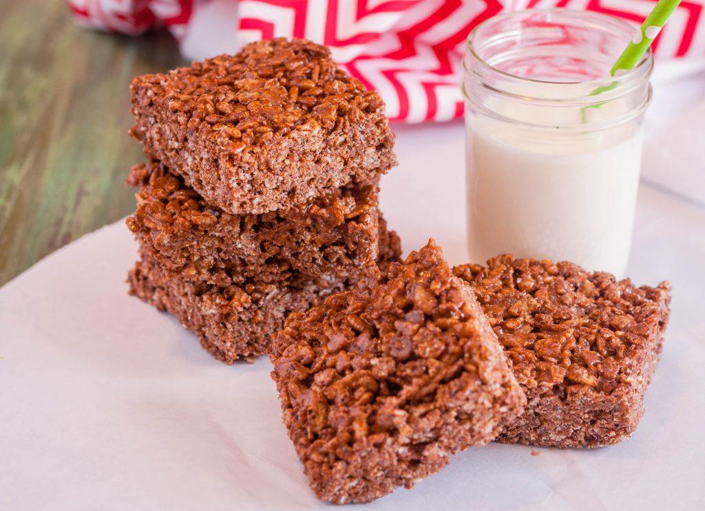 Chocolate Rice Krispie Treats   Jennifer Cooks