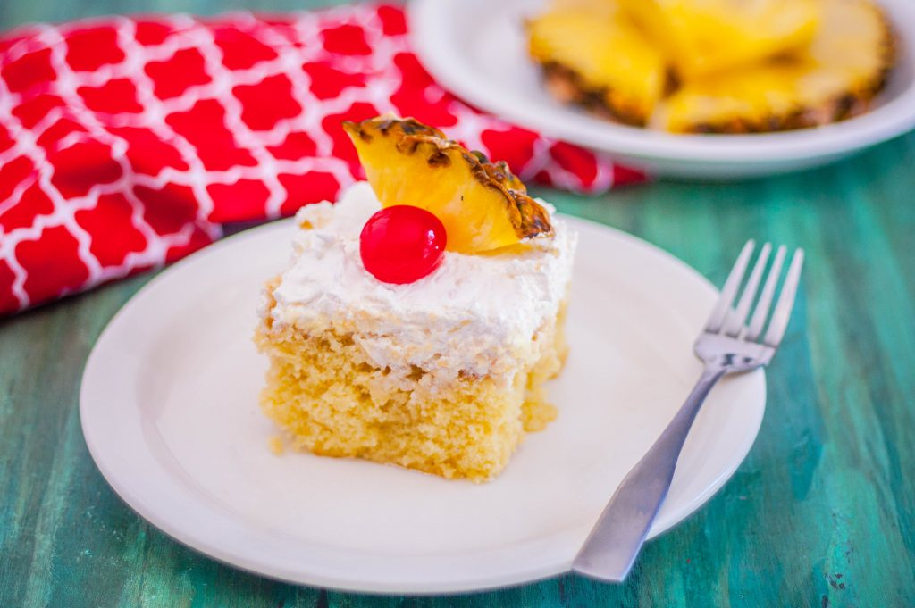 Pina Colada Cake   Jennifer Cooks