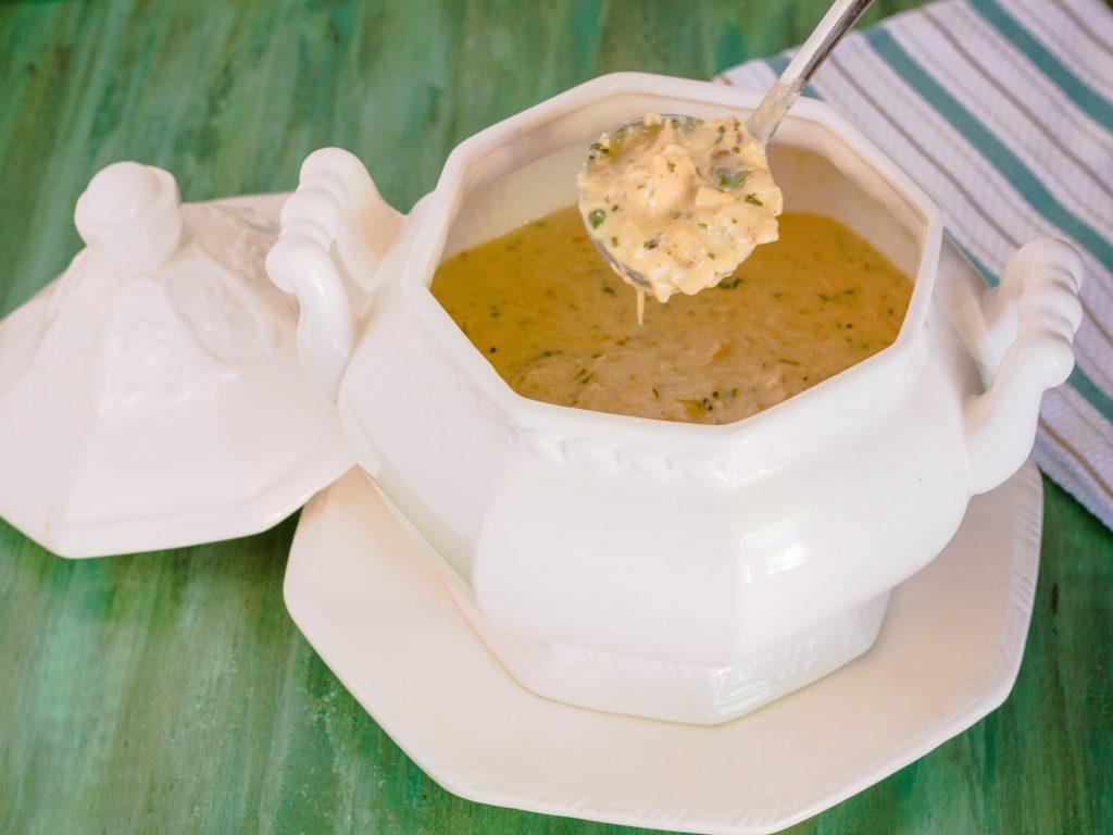 Creamy Chicken and Wild Rice Soup   Jennifer Cooks