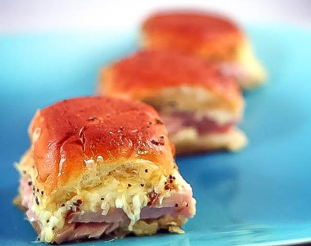Dinner Roll Sandwiches   JenniferCooks.com