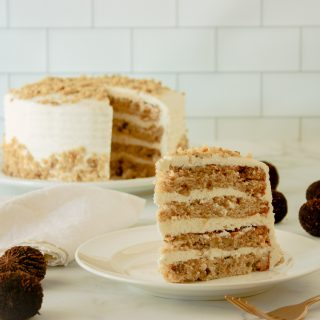 Banana Black Walnut Cake Recipe | JenniferCooks.com