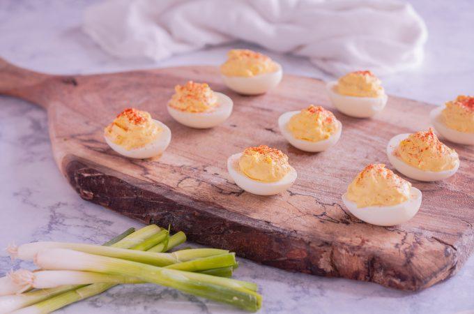 Classic Deviled Eggs Recipe | JenniferCooks.com