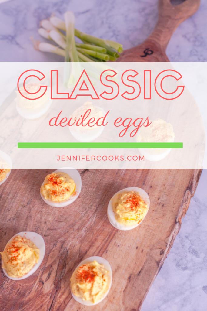Classic Deviled Eggs | Jennifercooks.com