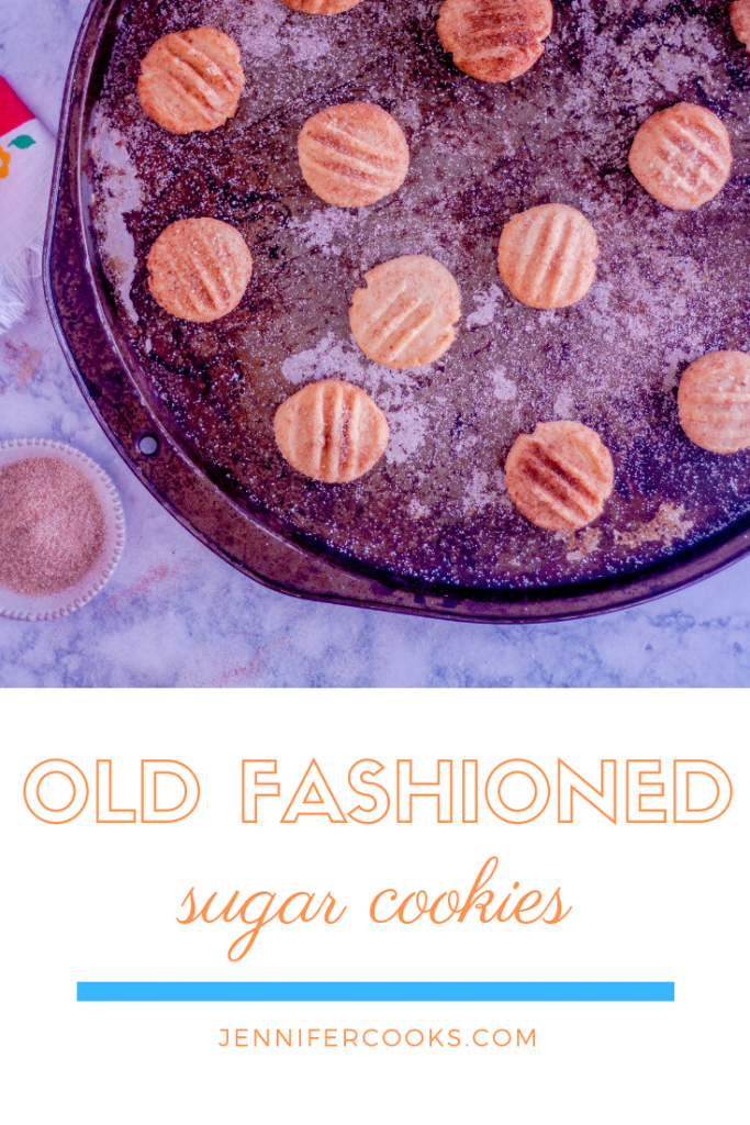 Old Fashioned Sugar Cookies Pin | JenniferCooks.com