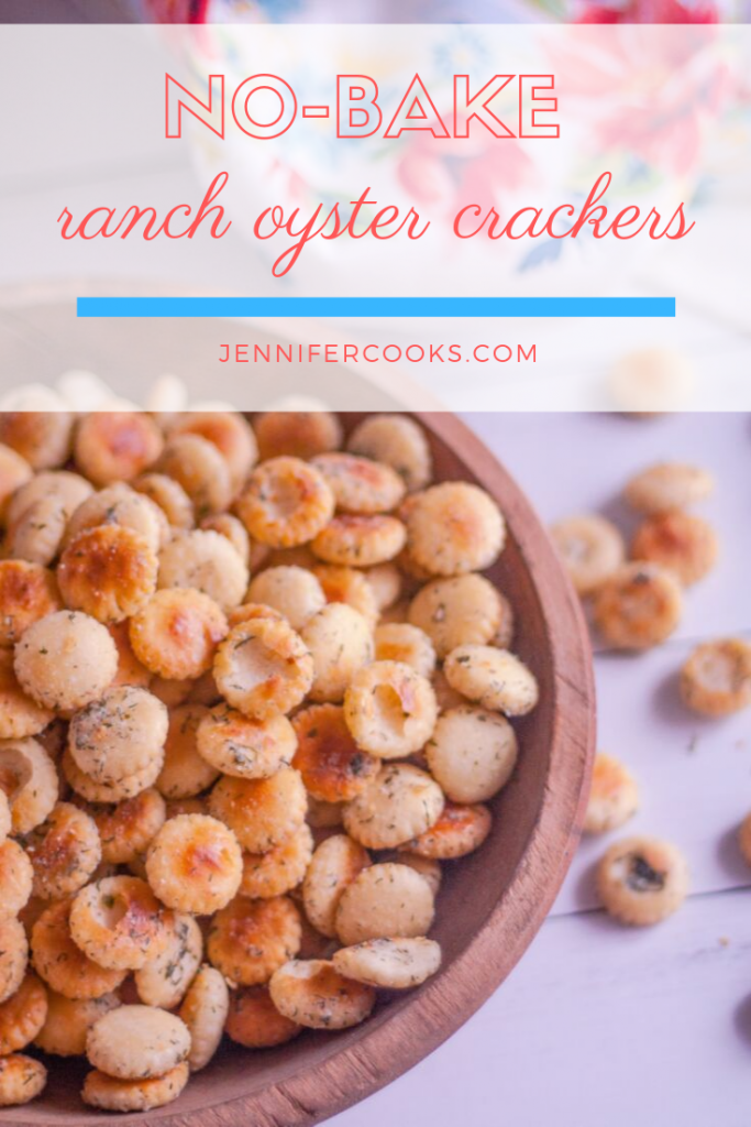 Ranch Oyster Crackers Recipe | JenniferCooks